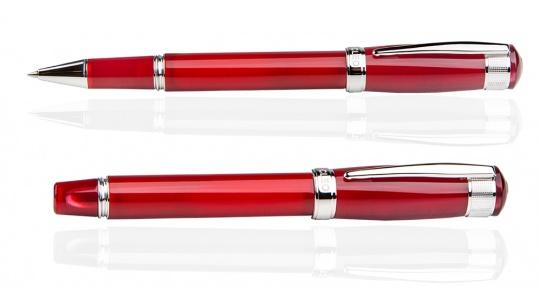 Aura Tintenroller Rot