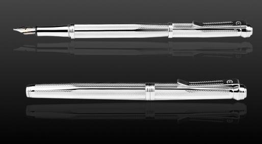 Linea Arte Füllfederhalter-Patrone/Konverter Sterling Silber